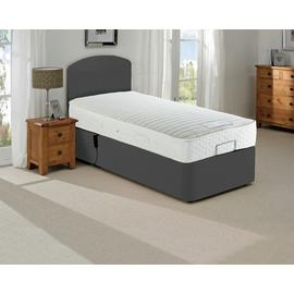 MiBed Barrow Adjustable Single Bed and 800 Pocket Mattress