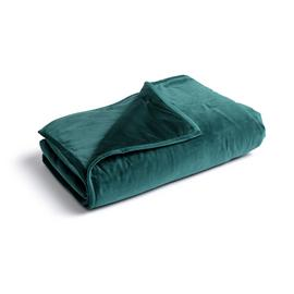 Habitat Agra Super Soft Quilted Throw - Green