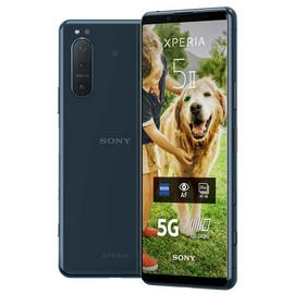 SIM Free Sony Xperia 5II 5G 128GB Mobile Phone - Blue
