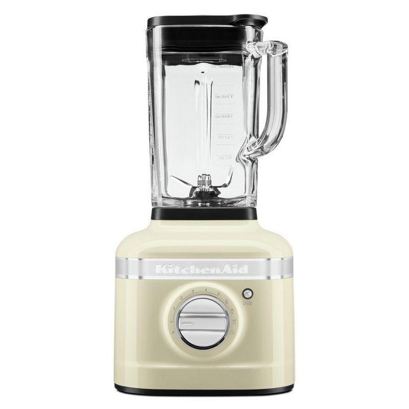 KitchenAid Artisan K400 Glass Jar Blender - Almond Cream from Argos
