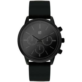 Spirit Men's Black Rubber Strap Watch
