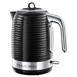 Russell Hobbs 24361 Inspire Kettle, 3000 W, 1.7 Litres, Black Best Price and Cheapest
