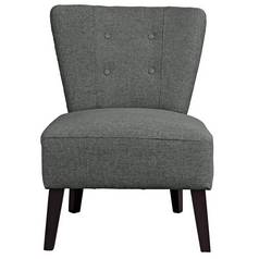 Argos Home Delilah Cocktail Chair - Charcoal