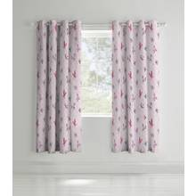 Catherine Lansfield Glamour Princess Curtains - 168x183cm