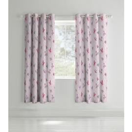 Catherine Lansfield Glamour Princess Curtains - 168x183cm