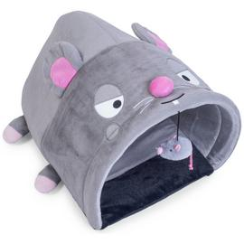 Petface Angry Mouse Interactive Cat Bed