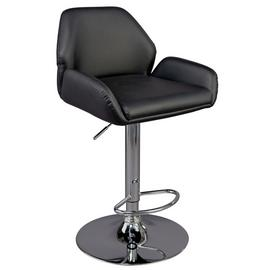 Argos Home Barber Gas Lift Barstool - Black