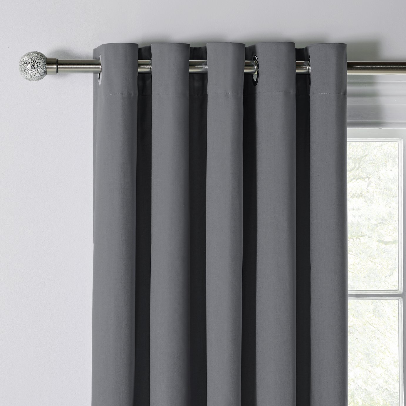 Curtains & Curtains | Eyelet Pencil Pleat \u0026 Blackout Ready Made | Argos