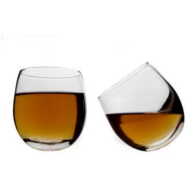 Mixology Pack of 2 Whisky Rocker Glasses
