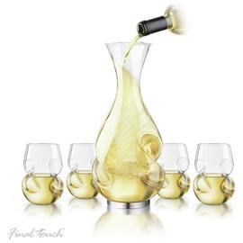 Final Touch Conundrum White Wine Decanter Set