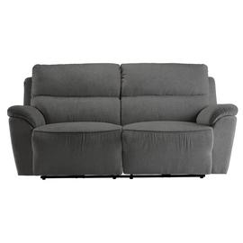 Argos Home Sandy 3 Seater Power Recliner Sofa - Charcoal