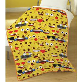 Emoji Yellow Faces Fleece Blanket
