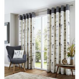 Fusion Idaho Eyelet Curtains