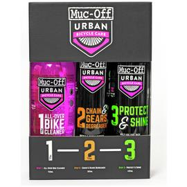 Muc-Off Urban Kit 123 Bike Cleaning Kit