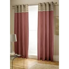 Catherine Lansfield Kashmir Cotton Curtains - 168x183cm.