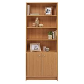 Argos Home Malibu 2 Door Tall Bookcase