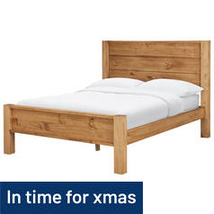 Argos Home Fairfield Double Bed Frame - Pine