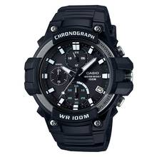 Casio Men's Black Resin Strap Chronograph Sport Watch