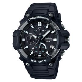 Casio Men's Black Resin Strap Chronograph Sport Watch