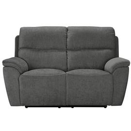 Argos Home Sandy 2 Seater Power Recliner Sofa - Charcoal