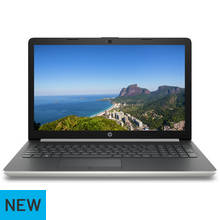 HP 15.6 Inch i7 8GB 1TB 128GB Laptop - Silver