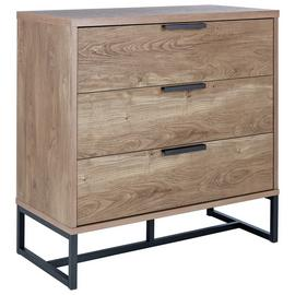 Argos Home Nomad 3 Drawer Chest - Oak Effect
