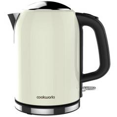 Cookworks Bullet Kettle - Cream