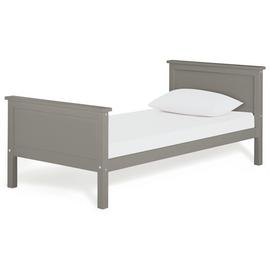 Argos Home Brooklyn Grey Single Bed Frame