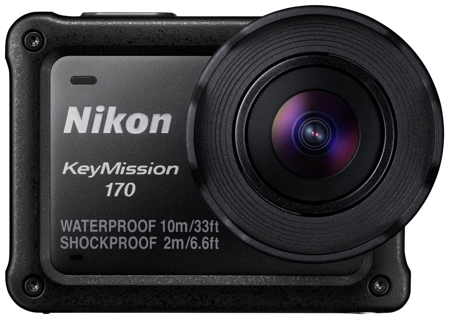 Nikon Keymission 170 Action Camera - Black