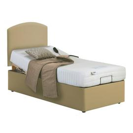 MiBed Lerwick Adjustable Single Bed and Memory Foam Mattress