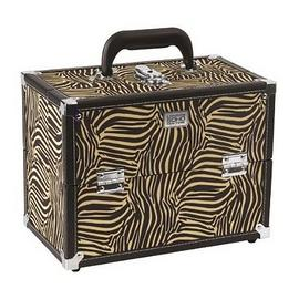 Soho Zebra Large Beauty Case