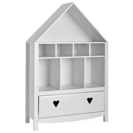 Argos Home Mia White Bookcase