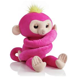Fingerlings HUGS - Bella (Pink) - Interactive Plush