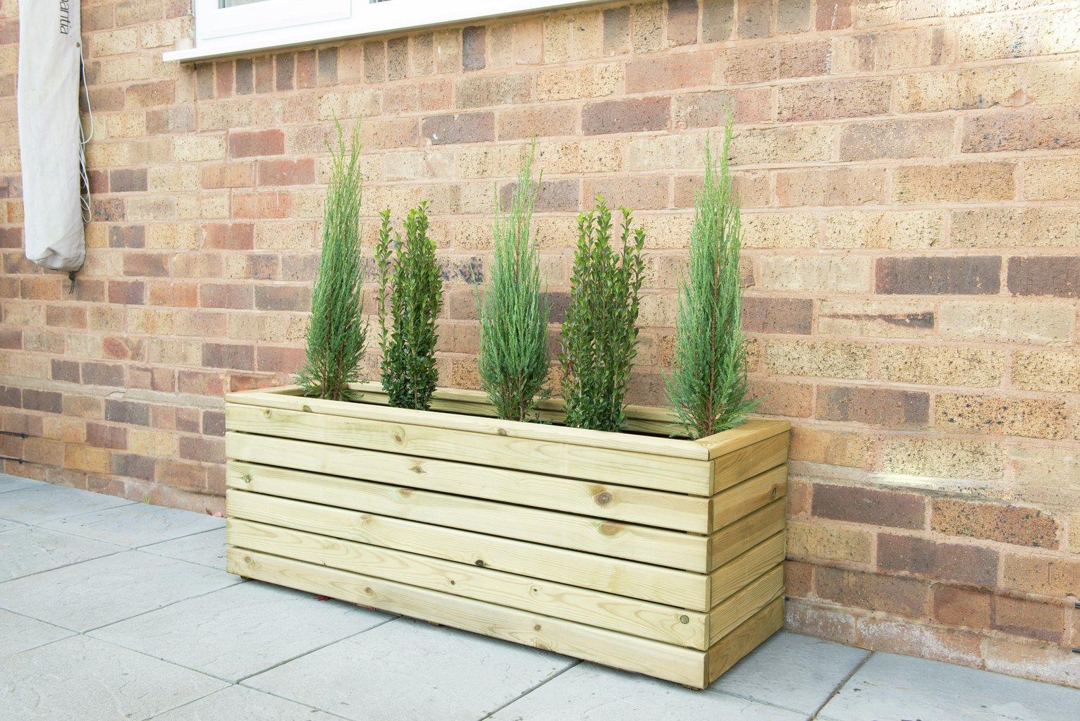 Charming Forest Garden Linear Long Planter