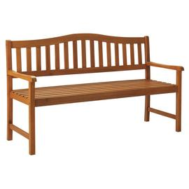Argos Home Henrietta Wooden 3 Seater Bench