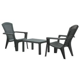 Argos Home Baltimore 2 Seater Resin Bistro Set - Graphite