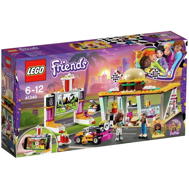 Buy Lego Friends Heartlake Drifting Retro Diner Playset 41349