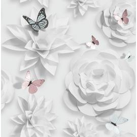 Superfresco Easy Origami Florals Wallpaper