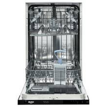 Bush DW9SLINTW Slimline Integrated Dishwasher