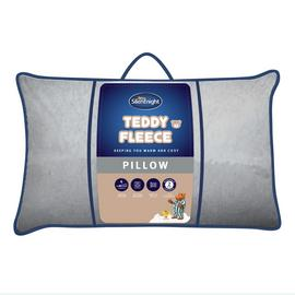 Silentnight Teddy Fleece Pillow