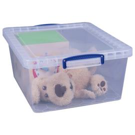 Really Useful 17.5 Litre Plastic Nesting Boxes - Set of 3