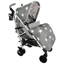 My Babiie Billie Faiers MB51 Stars Stroller - Grey