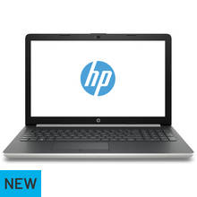 HP 15.6 Inch i7 8GB 128GB 1TB Laptop - Silver