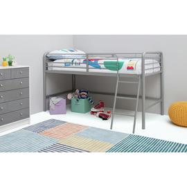 Argos Home Jo Silver Mid Sleeper