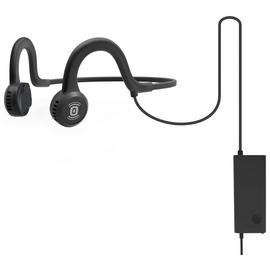 AfterShokz Spotz Titanium Open-Ear Headphones- Black
