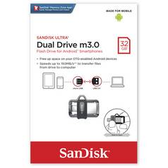 SanDisk Ultra Dual USB 3.0 Flash Drive - 32GB