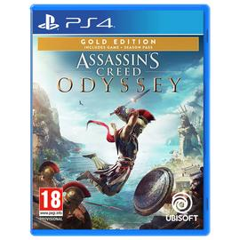 Assassin's Creed Odyssey Gold Edition PS4 Game
