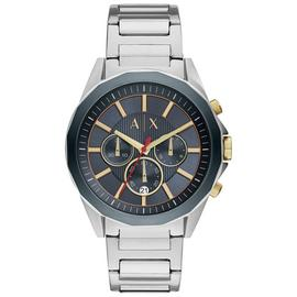 Armani Exchange Men's Silver Chronograph Watch