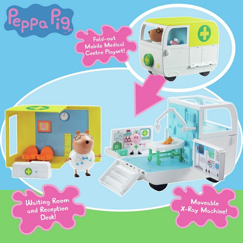 Peppa Pig Mobile Medical Centre from Argos