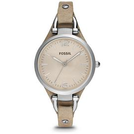 Fossil Ladies' Georgia ES2830 Bone Leather Strap Watch